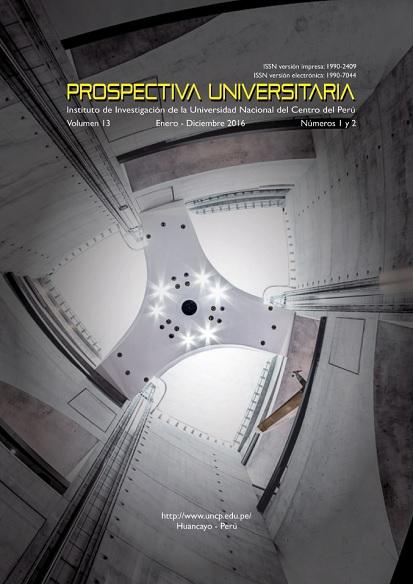Ver Vol. 13 Núm. 1 (2016): Prospectiva Universitaria