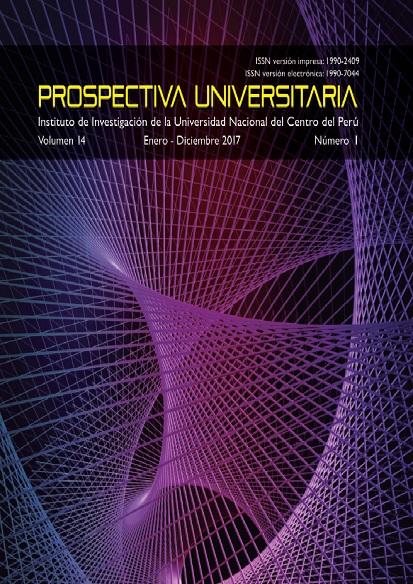 Ver Vol. 14 Núm. 1 (2017): Prospectiva Universitaria