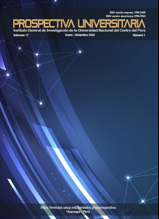 Ver Vol. 17 Núm. 1 (2020): Prospectiva Universitaria