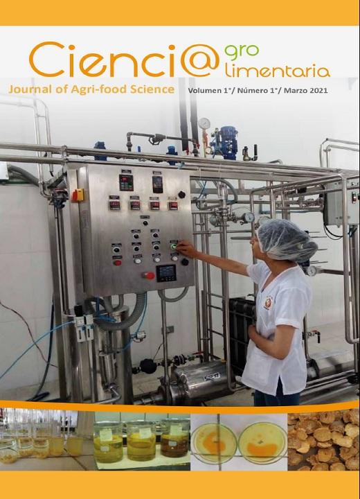 Ver Vol. 2 Núm. 1 (2021): Ciencia Agro Alimentaria